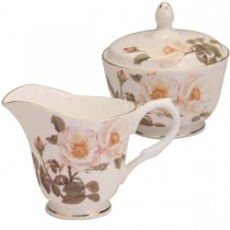 Mona Rosa Sugar and Creamer Set