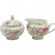 Beau Rose Sugar/Creamer Set