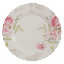 Beau Rose Dessert Plates, Set of 4