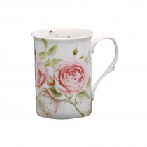 Beau Rose Can Mugs, Set of 4