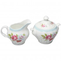 Alice Garden Sugar and Creamer Set