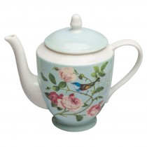 Blue Jay Coffee/Tea Pot