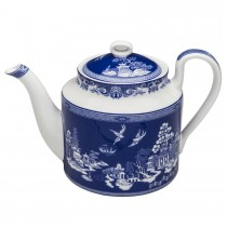 Blue Willow Bone China Teapot