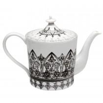 Black Moroccan Teapot