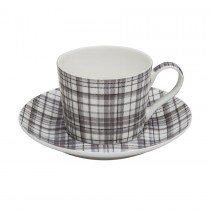 Glen Grey Coffee Cups and Saucers, Set of 4