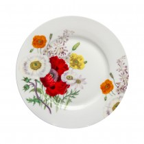 Poppy Field Dessert Plates, Set of 4