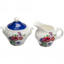 Poppy Day Sugar Creamer Set