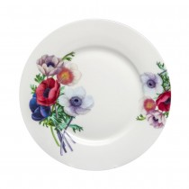 Poppy Day Dessert Plates, Set of 4