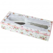 Silverplate Cake Server with Tassel Handle - 10 Inch