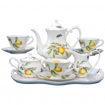 Lemon 11 Piece Tea Set