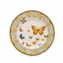 Blue Butterfly Dessert Plates, Set of 4