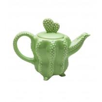 Green Cactus Teapot