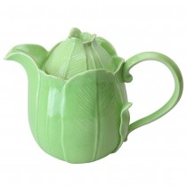 Green Leave Teapot