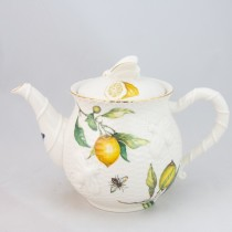 Crafted Gold Bee Lemon Teapot