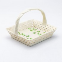 Clover Vine Teabag Holder Basket, Set of 2