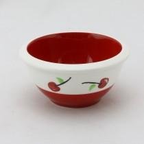 Red Cherry Prep Bowl 6 piece set