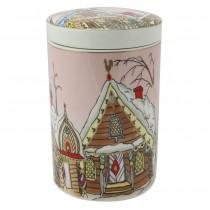 Ginger House Porcelain Lid Canister