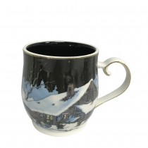 Mountain Night Mugs, Set of 4
