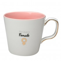 """Future Femal"" Coffee Mugs, Set of 4"