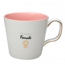 """Future Femal"" Coffee Mugs, Set of 4"