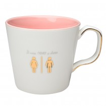 """never a Dress"" Coffee Mugs, Set of 4"