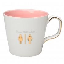 """never a Dress"" Coffee Mugs, Set of 4"