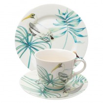 Lakeside Bird Cups and Plates
