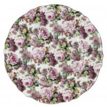 Victorain Rose Bouque Salad Plates,Set of 4