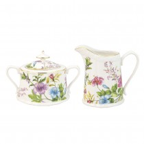 Summer Vine Sugar Creamer Set