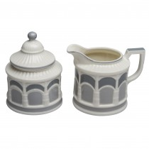 Grey Arches Sugar & Creamer