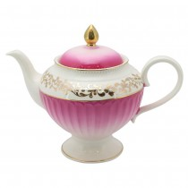 Antique Pink Gold  Teapot
