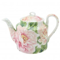 Bone China Empire Peony Tea Pot