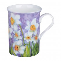 Daffodil/Pastel Purple Can Mugs, Set of 4