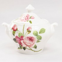 Kensington Pink Rose Sugar Creamer Set