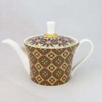 Golden Moroccan Coffee/tea Pot