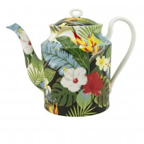 Bird of Pasadise Bone China Teapot
