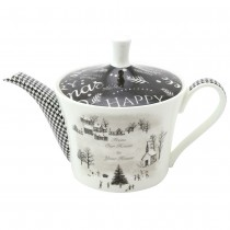 """Wonderland--""""From our home to your house""""  Bone China Teapot"""