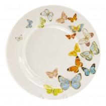 Spring Butterfly Dessert Plates, Set of 4