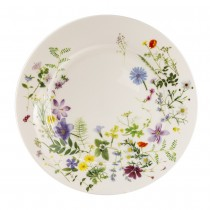 Summer Meadow Bone China Dinner Plates, Set of 2