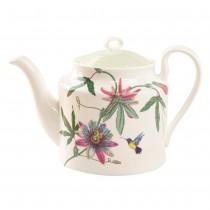 Hummingbird Garden Bone China Teapot