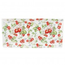 Strawberyy Vine Loaf Trays, Set of 4