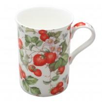 Strawberry Vine Mugs, Set of 4