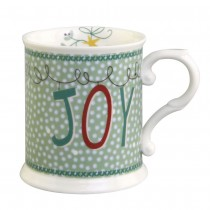 Winter Joy Chocolate Mugs, Set of 4