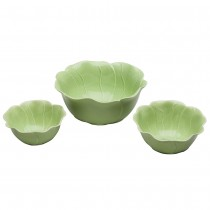 Green leave Bowl Set of 3