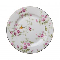 Hummingbird Salad Plates, Set of 4