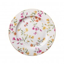 Butterfly Floral 8 Inch Salad Plates, Set of 4