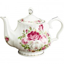 Cottage Rose Teapot