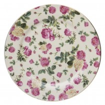 Pink Rose Bouquet Dessert Plates, Set of 4