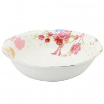 Pink Rose Dots Serving Bowls. Set of 2