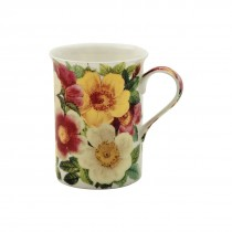 Spicy Poppy Can Mugs, Set of 4